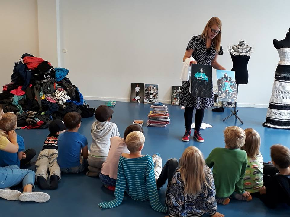 Johanna Törnqvist in Elementary School