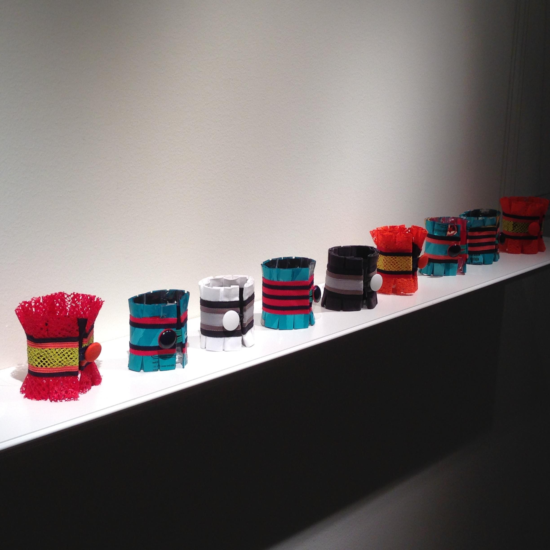 Precious Trash Cuffs by Johanna Törnqvist