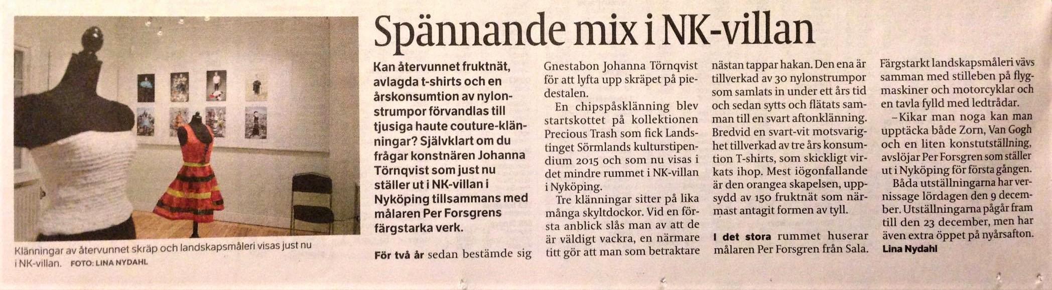 Spännande mix på NK-villan