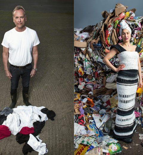 Project Precious Trash: White T-shirts