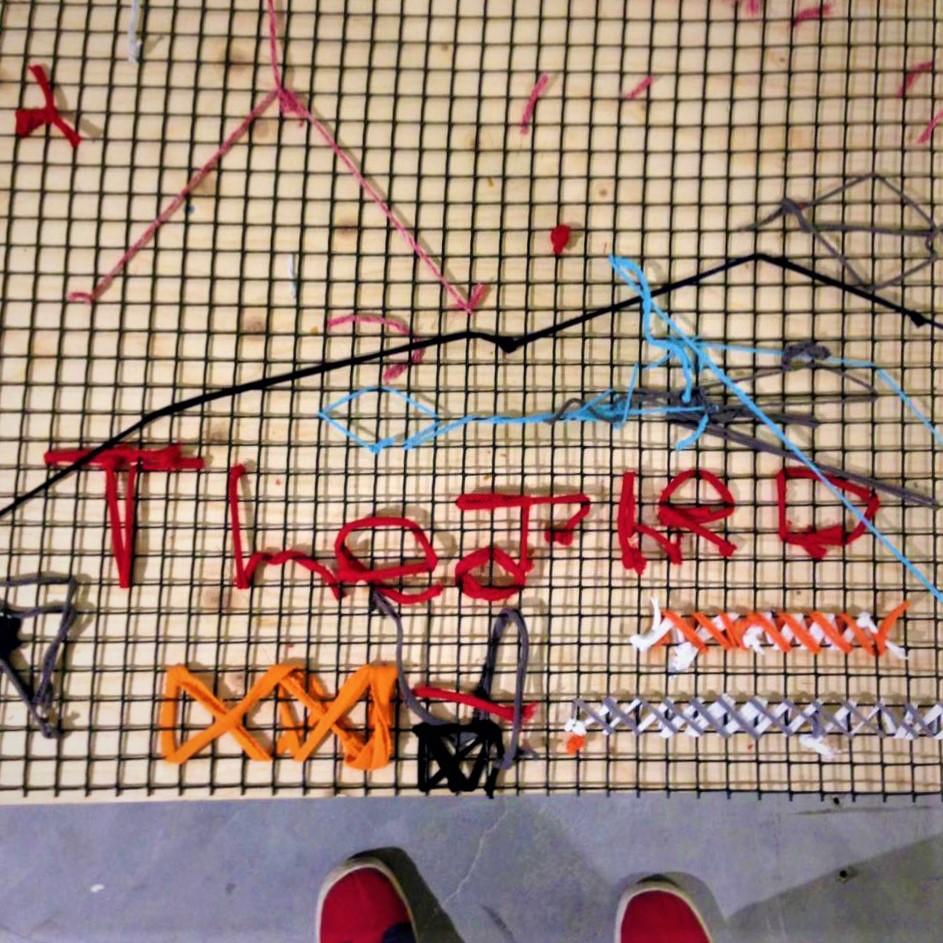 Graffiti Embroidery