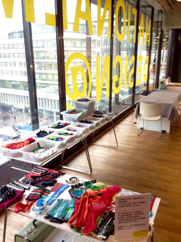 Sportlovsworkshop: Skapa i skräp 2017